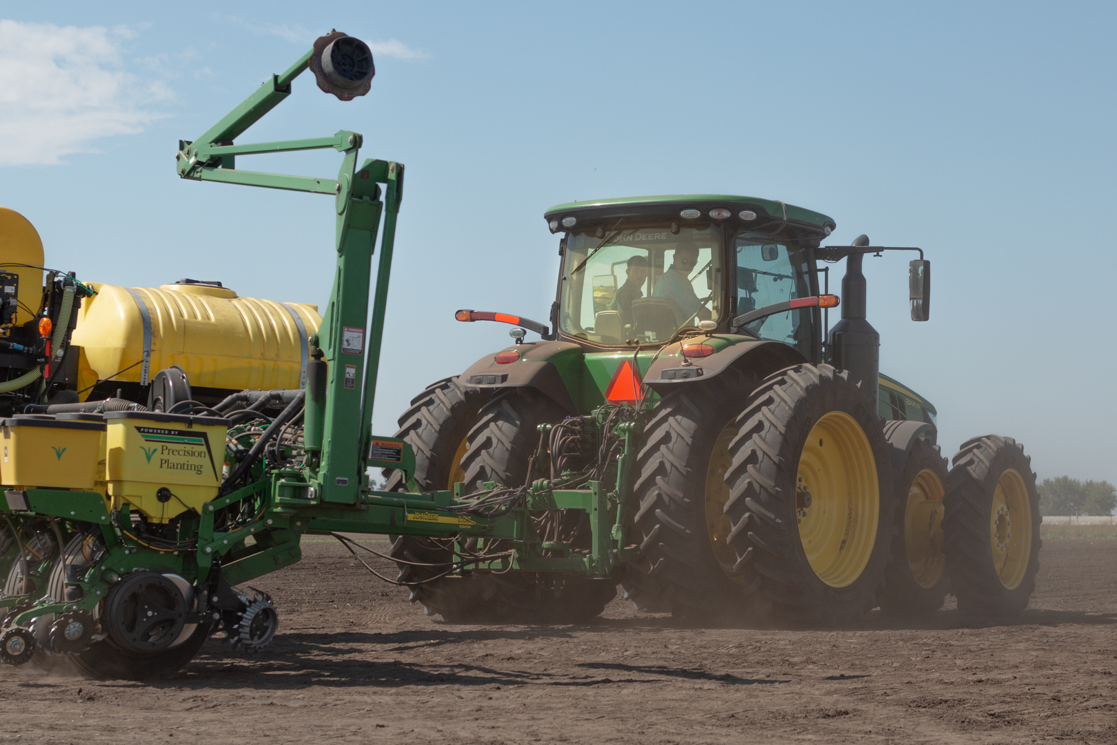 Farmers at the PTI Farm can drive new equipment and test the latest technology.