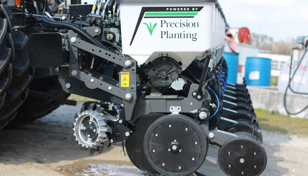 A Ready Row Unit on a planter.